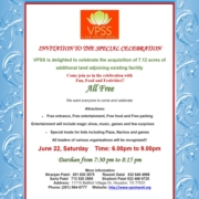 Invitation to The Special Celebration!!!